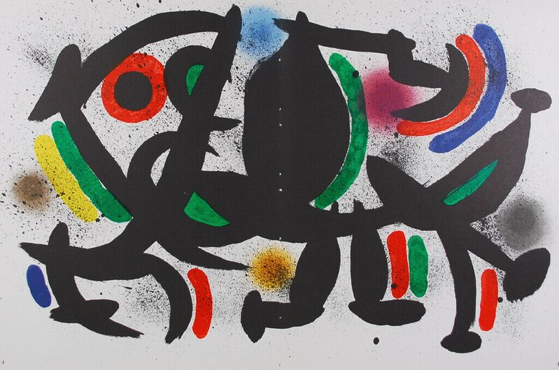 Joan Miró, 'Litografia Original VIII', 1972, Print, Lithograph, Cerbera Gallery