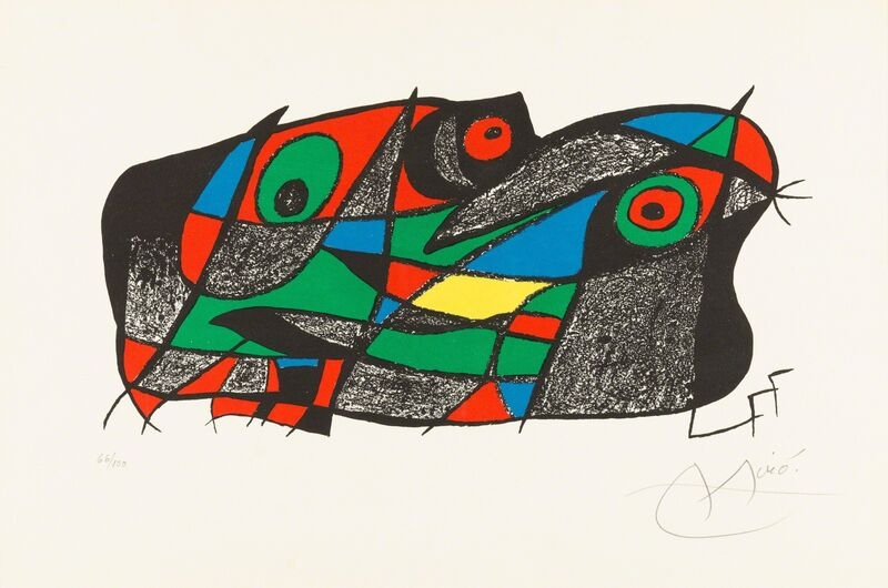 Joan Miró, 'Fotoscop', 1975, Print, Original lithograph printed in colors on Guarro wove paper., Christopher-Clark Fine Art
