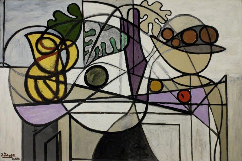 Pablo Picasso, 'Pitcher and Fruit Bowl', 1931, Painting, Oil on canvas, Saint Louis Art Museum