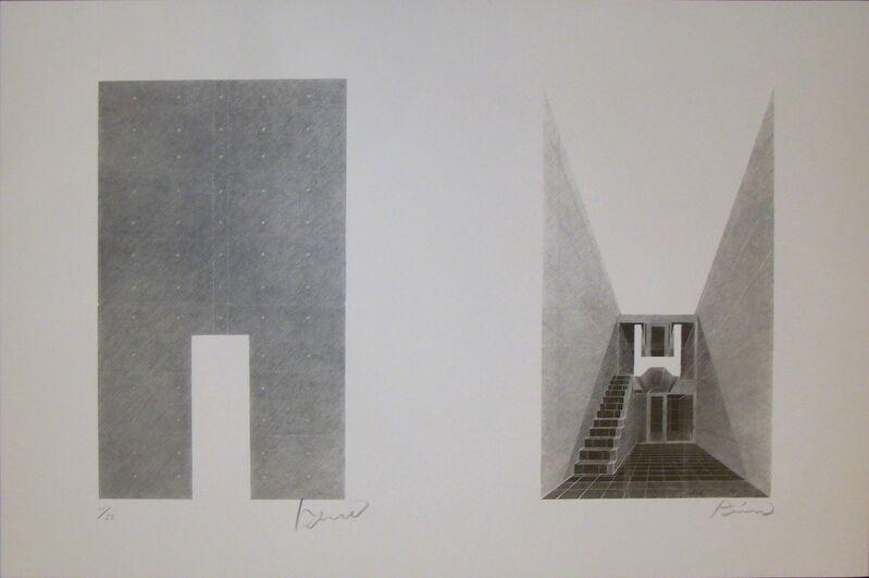 Tadao Ando, 'Tadao Ando Prints 1998', 1998, Print, Screenprint portfolio, Watanuki Ltd. / Toki-no-Wasuremono