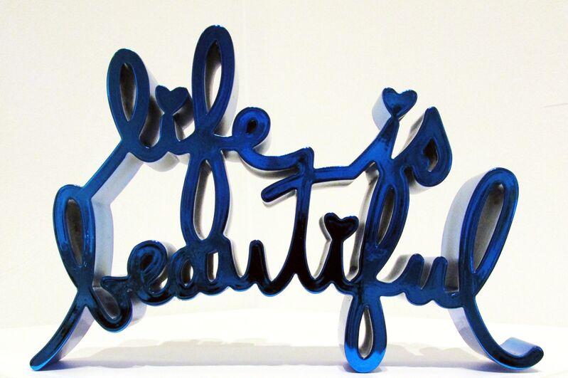 Mr. Brainwash, 'Life is Beautiful- Hard Candy', 2017, Sculpture, Cast resin sculpture with metallic finish, Taglialatella Galleries