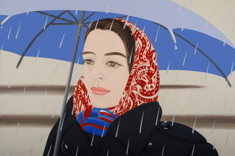 Alex Katz, 'Blue Umbrella 2', 2020, Print, Archival ink dispersion on Museo Board, Adamar Fine Arts