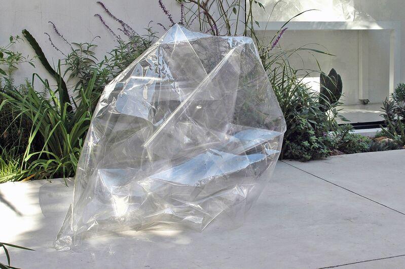 Jane Brodie, 2015, Installation, Site-specific, acetato y cinta adhesiva, María Casado