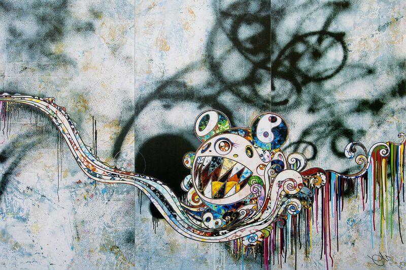 Takashi Murakami, '727999', 2016, Print, Offset print, Lougher Contemporary