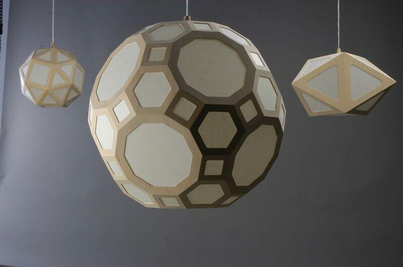 Rasmus Fenhann, 'Hikari', 2005, Design/Decorative Art, Oregon pine, Japanese Koso paper, Galerie Maria Wettergren