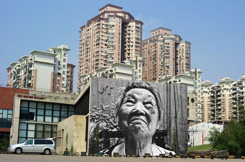 JR, 'The Wrinkles of the City - Shi Li', 2011, Photography, Danysz Gallery