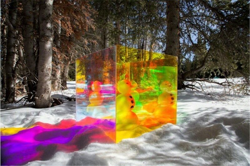 Tierney Gearon, 'Untitled (Snowman), from the COLORSHAPE Series ', 2013, Photography, Archival Pigment Print, Grob Gallery