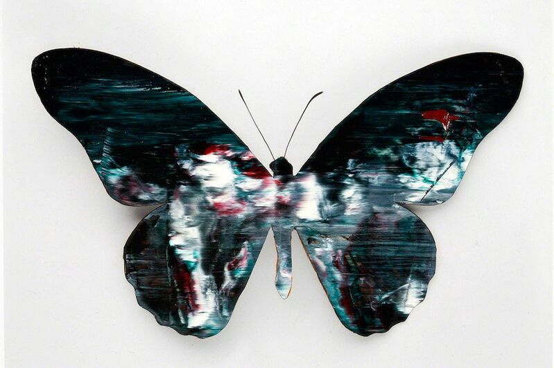Stan Gaz, 'Butterfly 1', 2010, Mixed Media, Oil on C-print, ClampArt