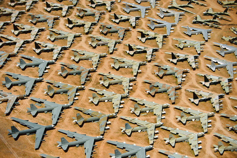 Alex Maclean, 'B-52, 'BONE YARD', TUCSON, ARIZONA, USA, 1991', 1991, Photography, Digital C-Type, Huxley-Parlour