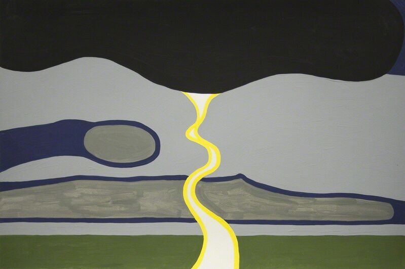 Sean Montgomery, 'Lightning', 2016, Drawing, Collage or other Work on Paper, Àcrylic on paper, LarocheJoncas