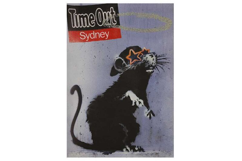 Banksy, 'Time Out London', Print, Offset lithograph, Chiswick Auctions