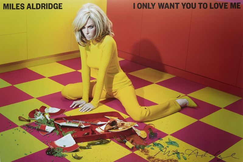 Miles Aldridge, 'I Only Want You To Love Me', Posters, Offset lithographic poster in colours on wove, Roseberys