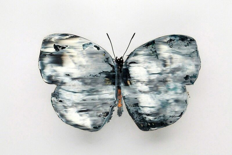 Stan Gaz, 'Butterfly 3', 2010, Mixed Media, Oil on C-print, ClampArt