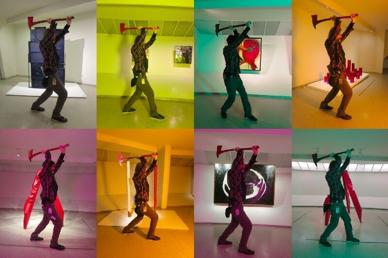 Ei Arakawa, 'Concrete Escort', 2013, Photography, Color photograph, Taka Ishii Gallery