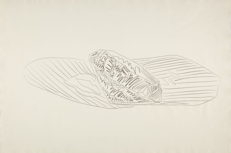 Andy Warhol, 'Gem', 1978, Drawing, Collage or other Work on Paper, Pencil on paper, EF ARTE