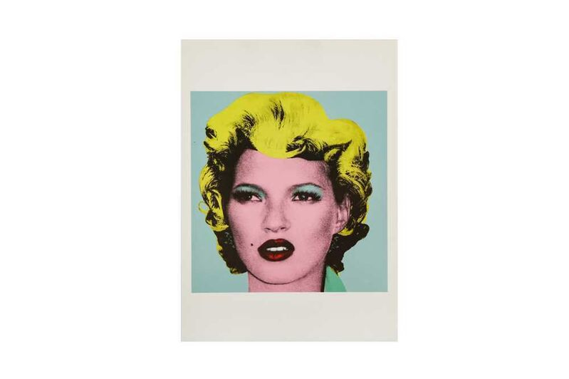 Banksy, 'Kate', Posters, Postcard, Chiswick Auctions