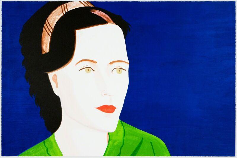 Alex Katz, 'Sharon', 2009, Print, Lithograph/woodcut, Graphicstudio USF