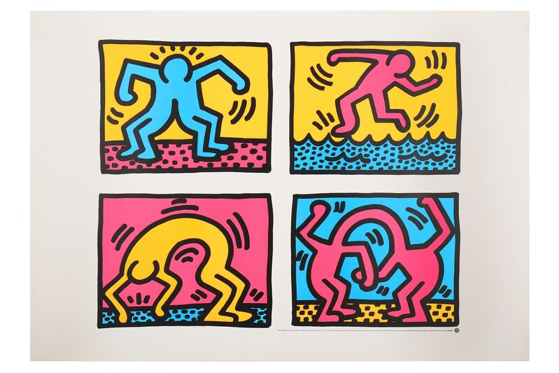 Keith Haring, 'Pop Shop Quad II', Posters, Poster, Chiswick Auctions
