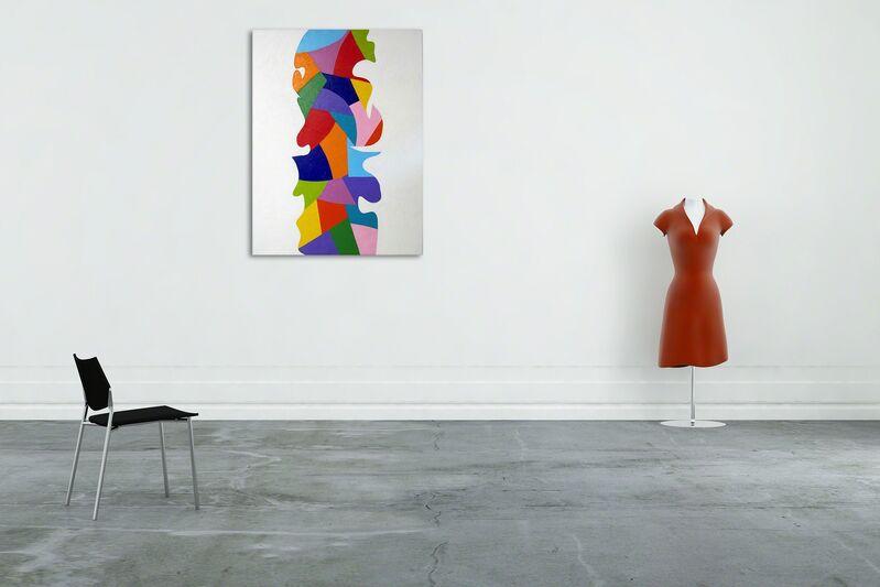 Dana Gordon, 'Endless Painting 3 (Abstract painting)', 2014, Painting, Oil on canvas, IdeelArt