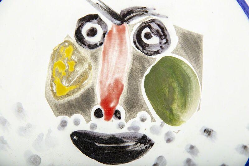 Pablo Picasso, 'A.R. 496 Face No. 203 Plate', 1963, Sculpture, Ceramic, Modern Artifact