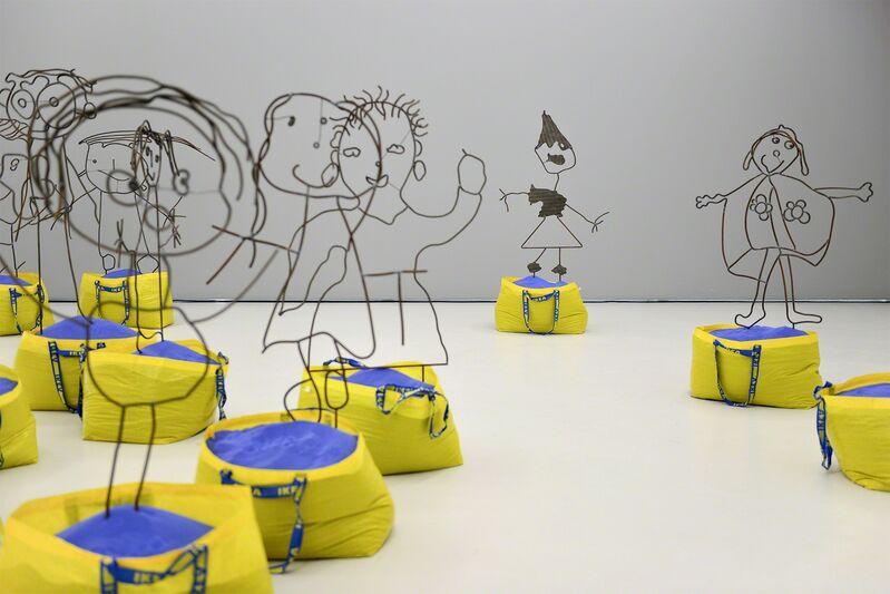 Flaka Haliti, 'Sochima, Edgar, Daniel, Tshego, Nihal, Oyane, Ms. Dagrou, Anna, Abigail, Quentin  (each sculpture is a single work)', 2015, Mixed Media, LambdaLambdaLambda