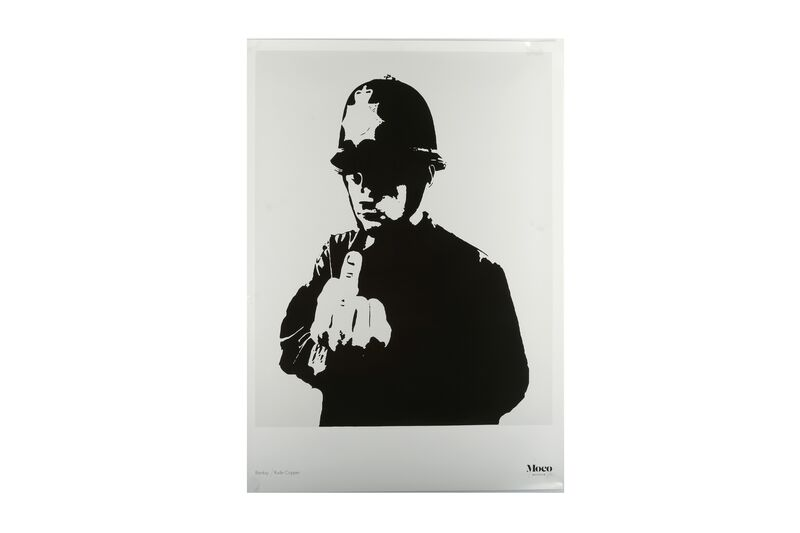 Banksy, 'Rude Copper', Posters, Official exhibition poster in original packaging, Chiswick Auctions