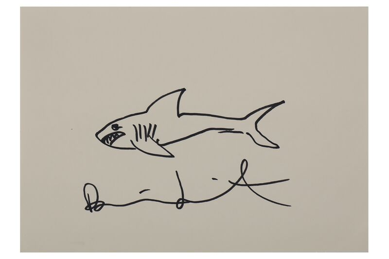 Damien Hirst, 'Untitled', 2009, Original drawing, pen on paper, Chiswick Auctions