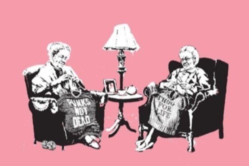 Banksy, 'Grannies', 2006, Print, Screen print, Arushi Arts