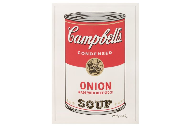 Andy Warhol, 'Campbell's Soup - Onion', Print, Lithograph print, Chiswick Auctions