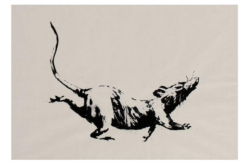Banksy, 'GDP Rat', 2019, Ephemera or Merchandise, Screen print on 50gsm paper, Chiswick Auctions