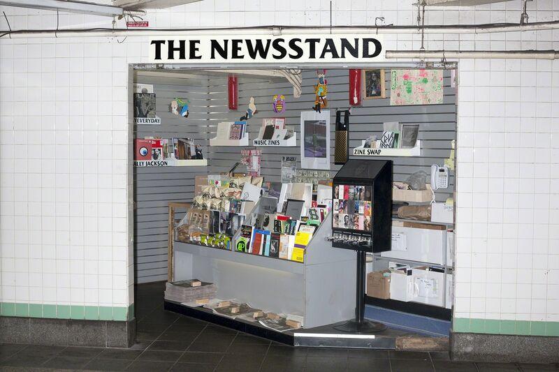 Lele Saveri, 'The Newsstand', 2013-2014, Installation, Mixed medium installation, approximately 11 ft. 4 7/8″ x 11 ft. 8″ x 9 ft. 9″ (347.7 x 355.6 x 297.2 cm), The Museum of Modern Art