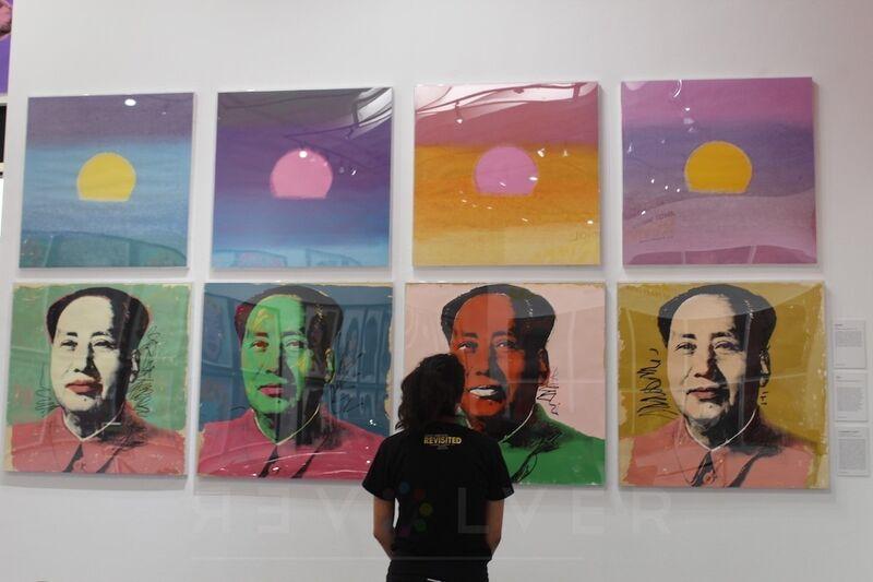Andy Warhol, 'Mao (FS 11.93)', 1972, Print, Screenprint on Beckett High White Paper, Revolver Gallery