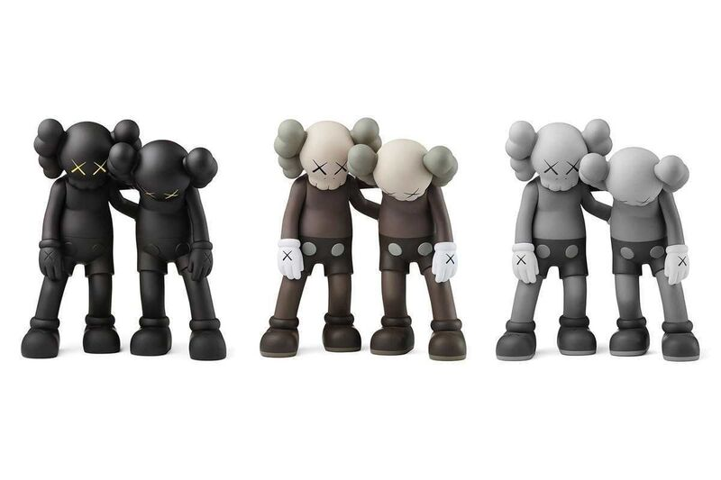 KAWS, 'Along The Way (Set of Three)', 2019, Sculpture, Painted vinyl cast resin, Hang-Up Gallery