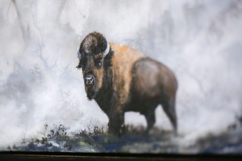 Brian Mashburn, 'Bear', 2016, Painting, Oil on linen, Paradigm Gallery + Studio