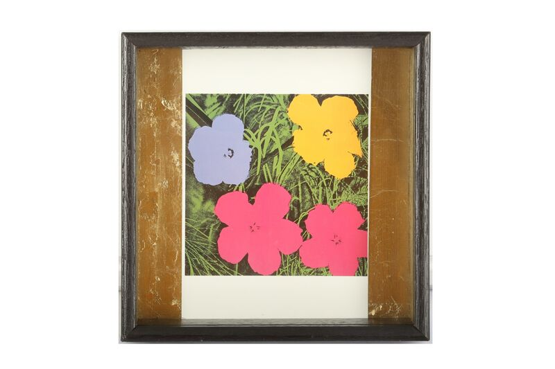 Andy Warhol, 'Flowers', Print, Lithographic print with stamp, Chiswick Auctions