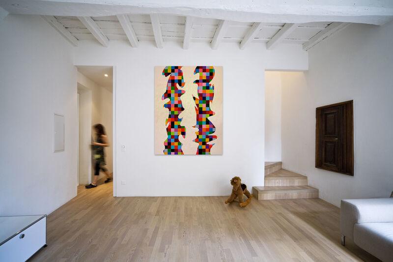 Dana Gordon, 'Endless Painting 2 (Abstract painting)', 2014, Painting, Oil on canvas, IdeelArt