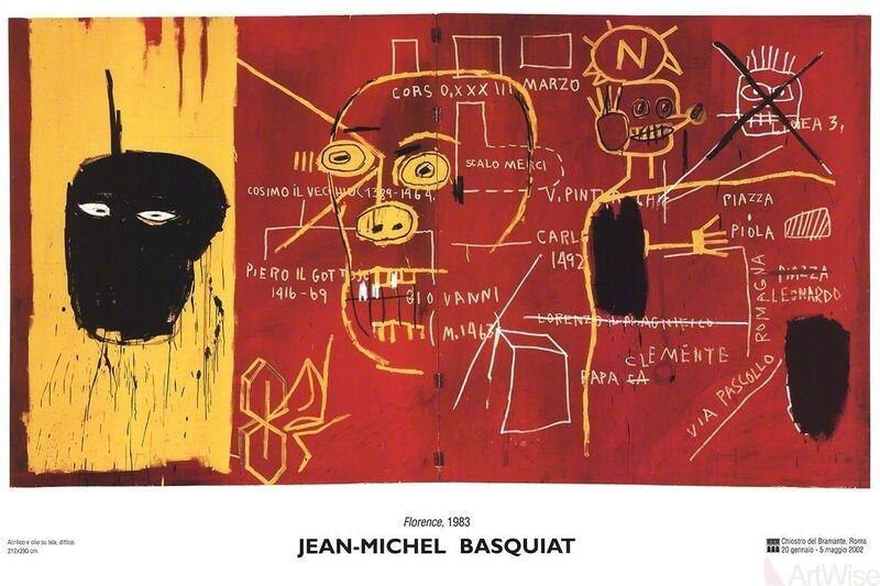 Jean-Michel Basquiat, 'Florence', 2002, Ephemera or Merchandise, Offset Lithograph, ArtWise