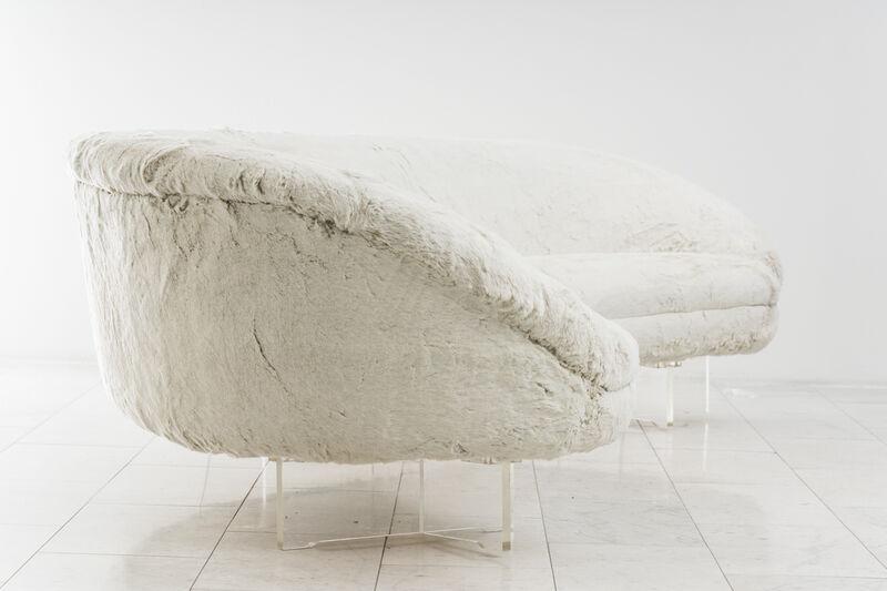 Vladimir Kagan, 'Vladimir Kagan, Custom Floating Sofa, USA', 1969, Design/Decorative Art, Lucite, Ermine, Todd Merrill Studio