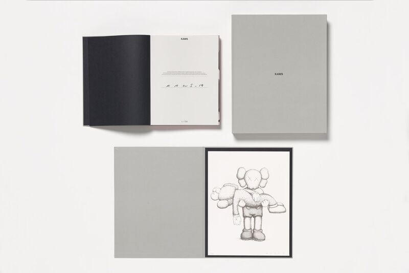 KAWS, 'NGV print and book', 2019, Books and Portfolios, Book, screenprint, Dope! Gallery Gallery Auction