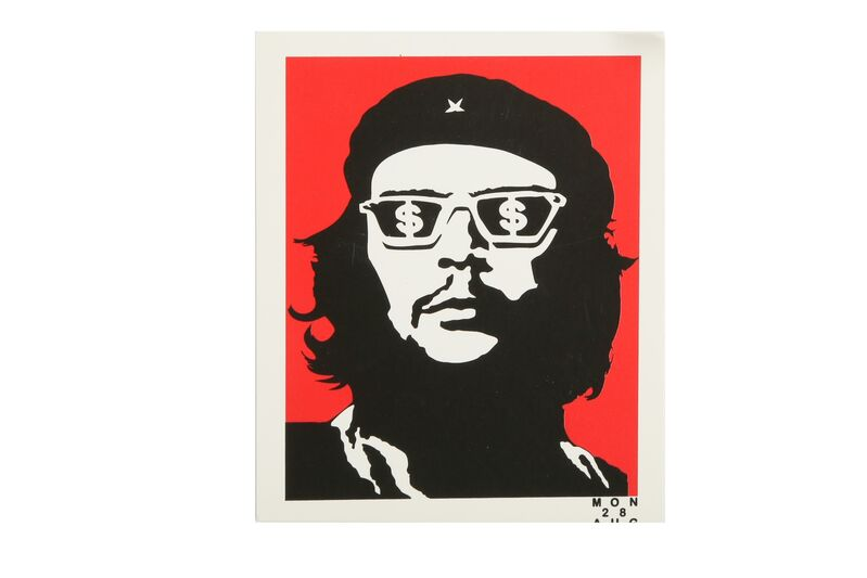 Banksy, 'Che and Save Or Delete', Other, Stickers, Chiswick Auctions