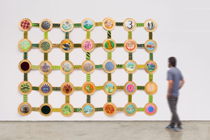 Leda Catunda, 'Morumbi', 2014, Painting, Acrylic on canvas and fabrics, Fortes D'Aloia & Gabriel