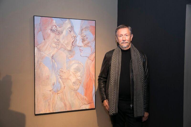 Henri Deparade, 'Odysseus', 2018, Painting, Oil on canvas, Accesso Galleria