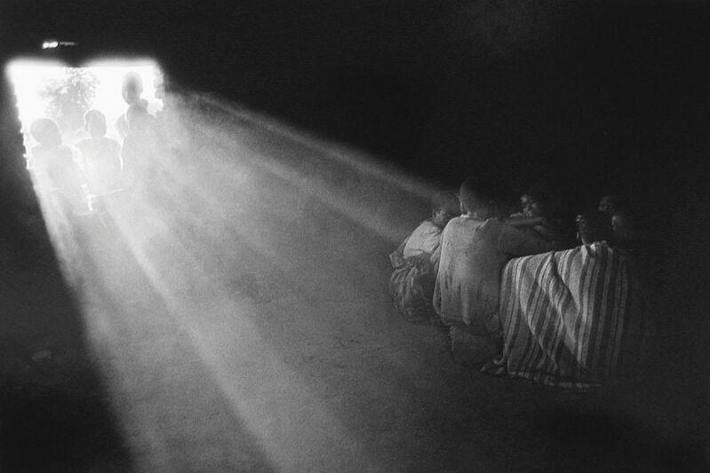 Sebastião Salgado, 'Boys fleeing from southern Sudan [refugee calm]', 1993, Photography, Gelatin silver print, Sundaram Tagore Gallery