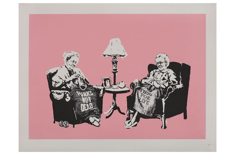 Banksy, 'Grannies', 2006, Print, Screenprint in colours, Chiswick Auctions