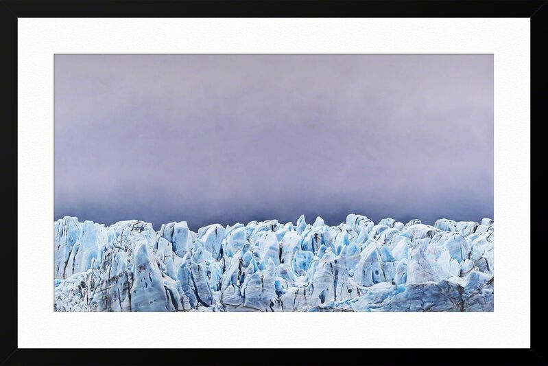 Zaria Forman, 'Risting Glacier South Georgia Limited Edition Print', 2017, Print, Hahnemühle 100% cotton rag paper with archival epson inkjet pigments, ArtStar