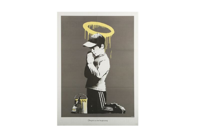 Banksy, 'Forgive Us Our Trespassing', Posters, Poster, Chiswick Auctions