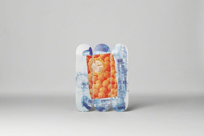 Robert Rauschenberg, 'Banner Skateboard Decks', 2017, Sculpture, 7-ply Canadian Maplewood with screen-print, Artware Editions