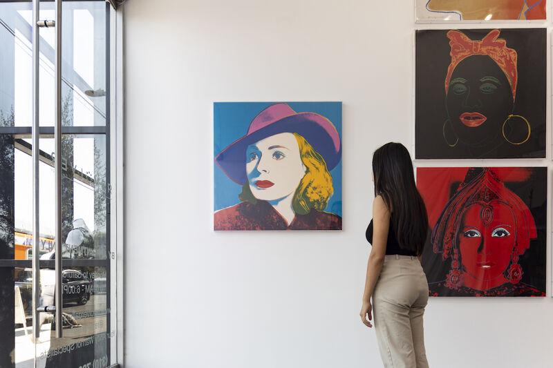 Andy Warhol, 'Ingrid Bergman, with Hat (FS II.315)', 1983, Print, Screenprint on Lenox Museum Board, Revolver Gallery