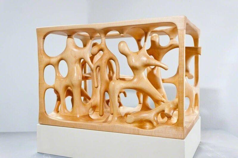 Atelier Van Lieshout, 'Model The Burghers', 2016, Sculpture, Wood, Galerie Krinzinger