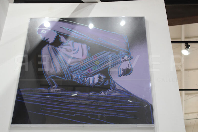 Andy Warhol, 'Lamentation (FS II.388)', 1986, Print, Screenprint on Lenox Museum Board, Revolver Gallery